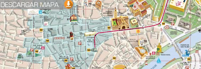 que hacer en Sevilla_imagen mapa para descargar