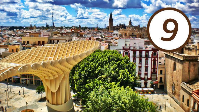 Setas de la Encarnación de Sevilla