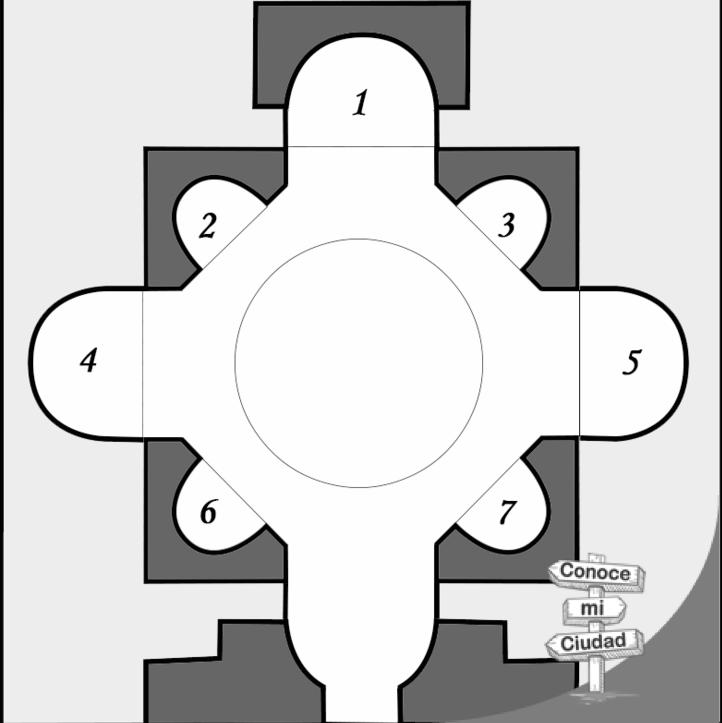 Planta Iglesia de San Luis de los Franceses